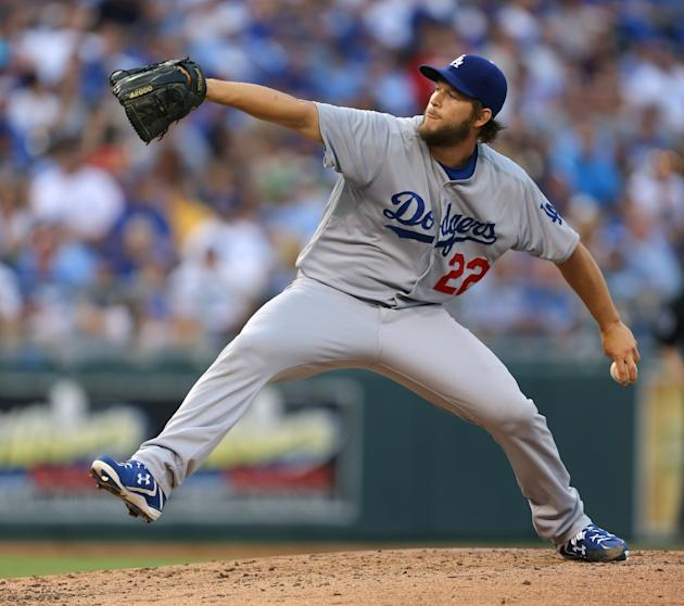 Coming off a no-hitter, Clayton Kershaw tossed eight innings of shutout baseball. (Getty Images)