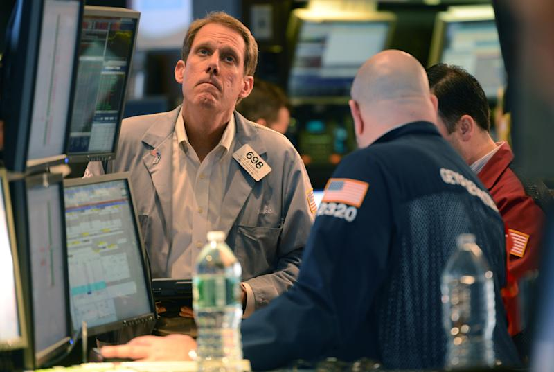 Stocks slide on Wall Street, extending sell-off