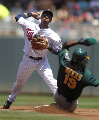 Cook blows lead, Capps saves Twins 5-4 win vs. A's