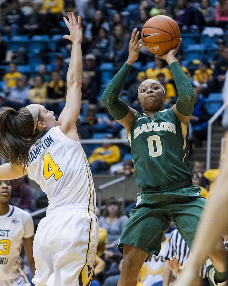 Sims has 48 points, Baylor women top W. Virginia