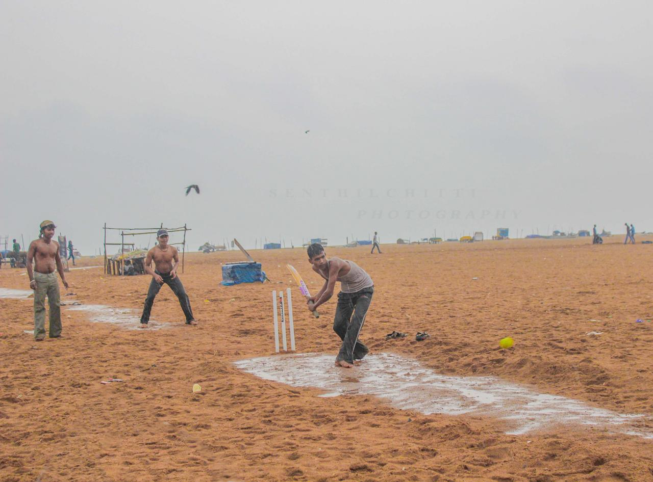 7 - Rain or Storm!!!! We love cricket!!!!!!! - marina beach,chennaisenthil kumar -http://www.flickr.com/photos/senthil_chitti