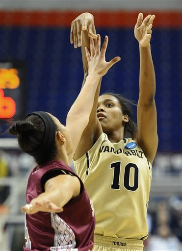 Vanderbilt women beat Saint Joseph's 60-54 in NCAA