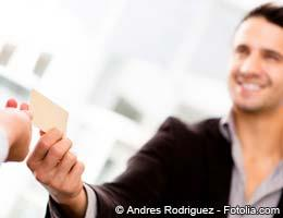 Small-business credit card