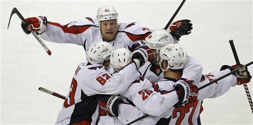 Capitals beat Bruins 2-1 in OT to advance