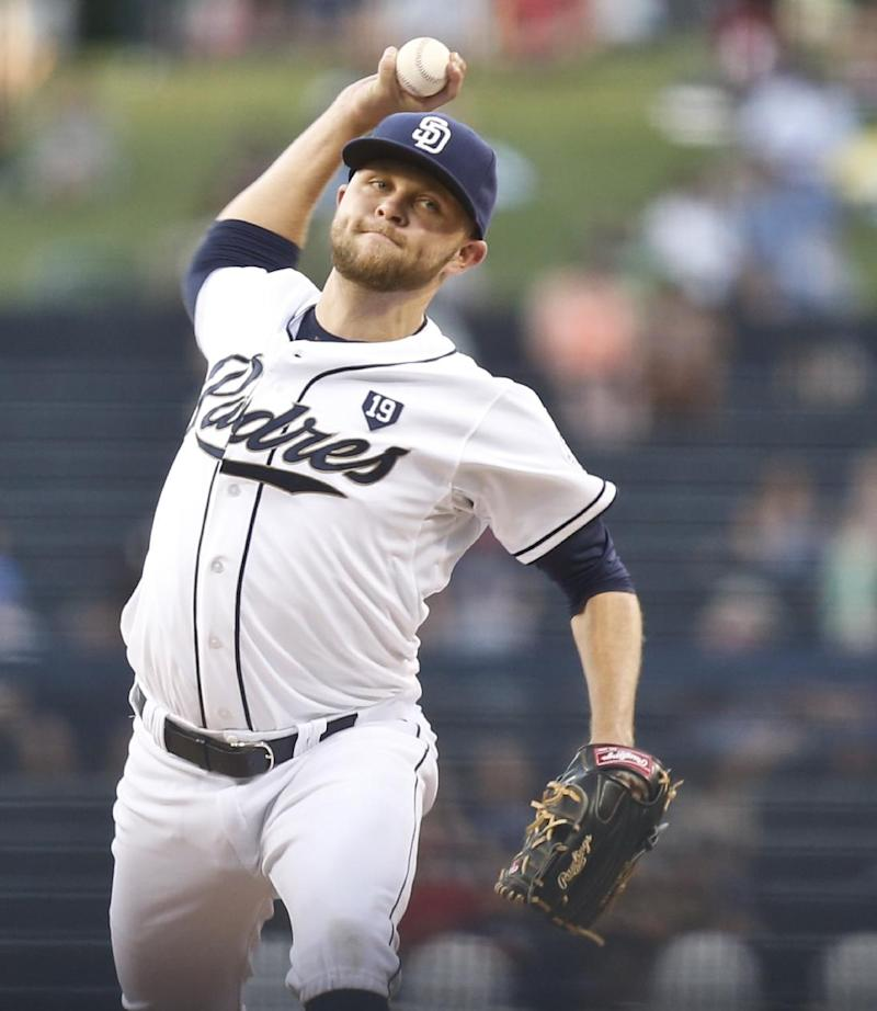 Gyorko, Venable back Hahn in Padres' 12-1 laugher