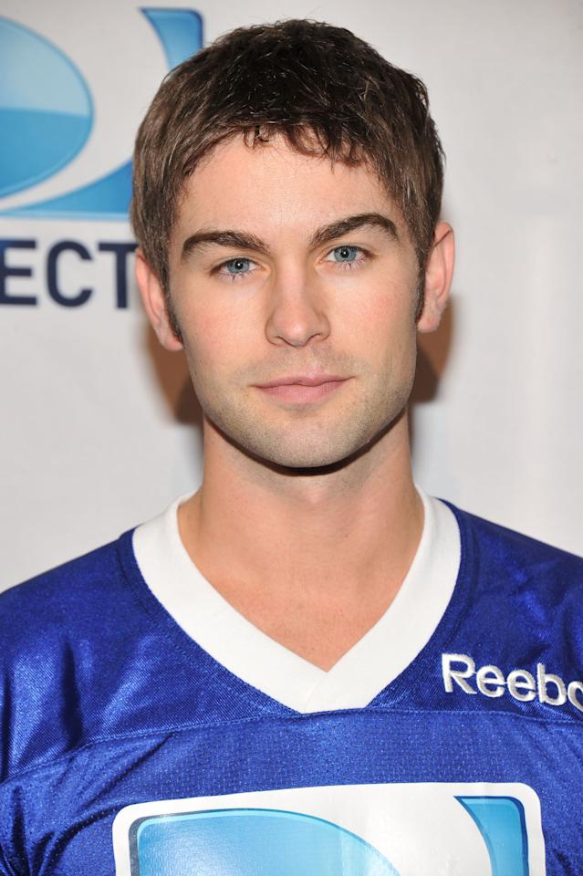 INDIANAPOLIS, IN - FEBRUARY 04:  Actor Chace Crawford attends DIRECTV's Sixth Annual Celebrity Beach Bowl Game at Victory Field on February 4, 2012 in Indianapolis, Indiana.  (Photo by Theo Wargo/Getty Images for DirecTV)