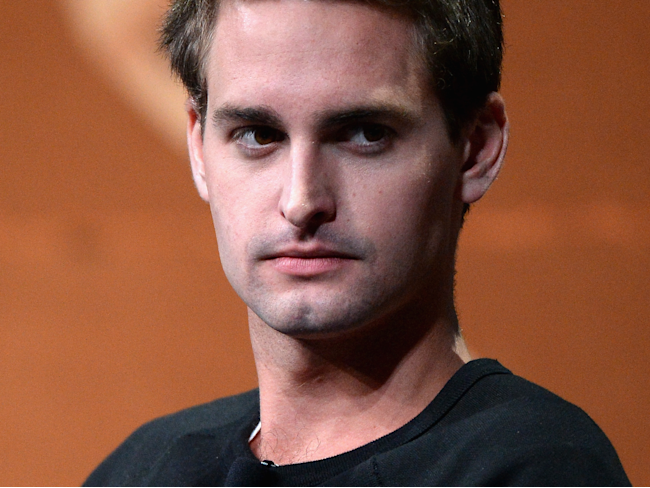 Snapchat is tanking for the first time since its IPO