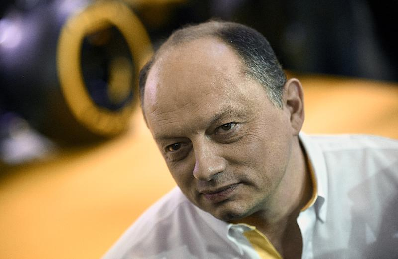 Renault split with team principal Vasseur