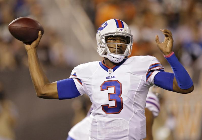 QB EJ Manuel active and will start for Bills