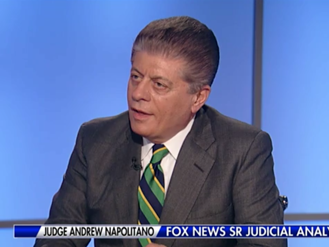 Benched legal analyst returns to Fox, stands by story