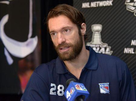 NHL: Stanley Cup Final-New York Rangers Media Day