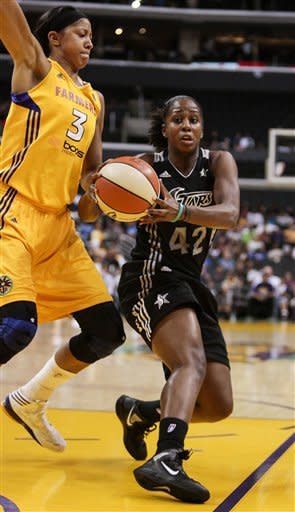 Toliver leads Sparks past Silver Stars, 101-77
