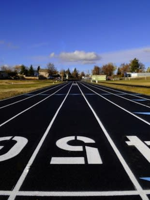 The new Condon High track — WildCanyonGames.org