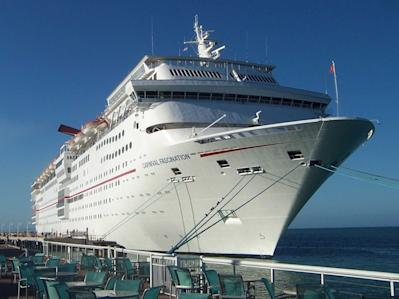 Carnival Fascination cruise ship in 2011
