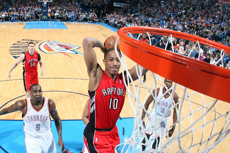 Raptors hand Thunder first home loss of season