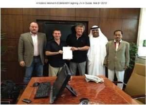 W2 Energy's European JV Partner W2H Luxembourg Holdings Signs Joint Venture Agreement With EGM World LLC in Dubai