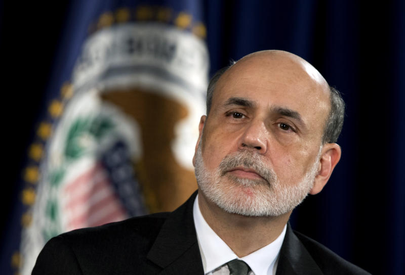 THE RESET: Bernanke keeping foot on stimulus pedal