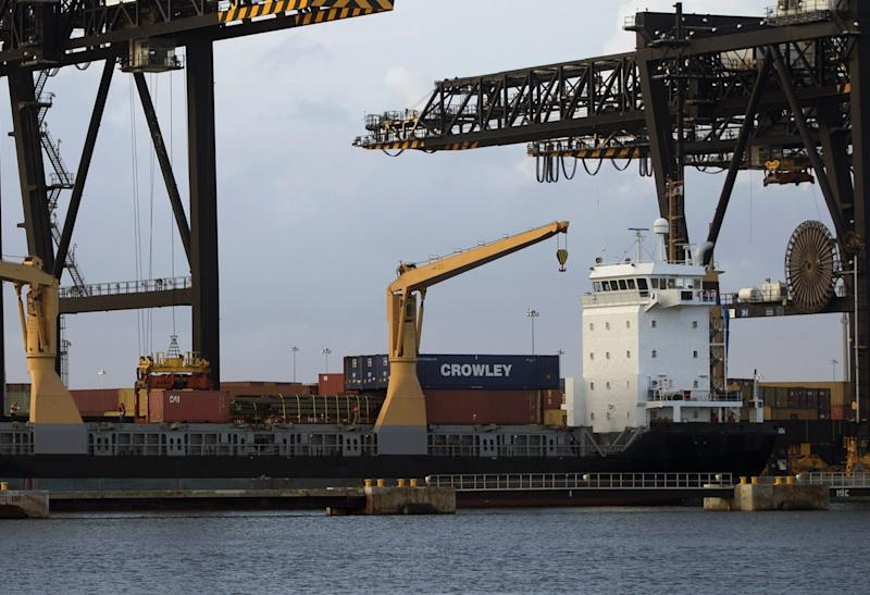 US trade gap widens to $44.4B as oil imports rise