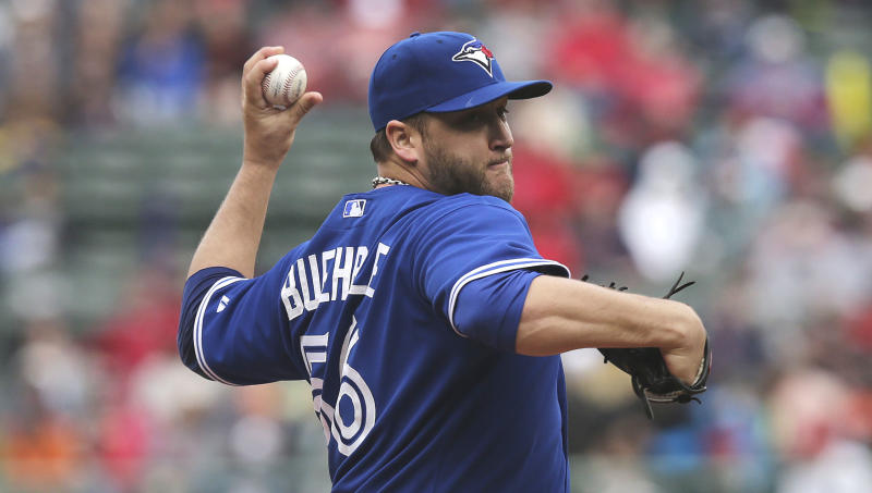 Buehrle pitches Blue Jays to 7-2 win over Red Sox
