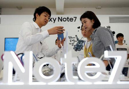 Samsung Galaxy Note 7 officially back on sale