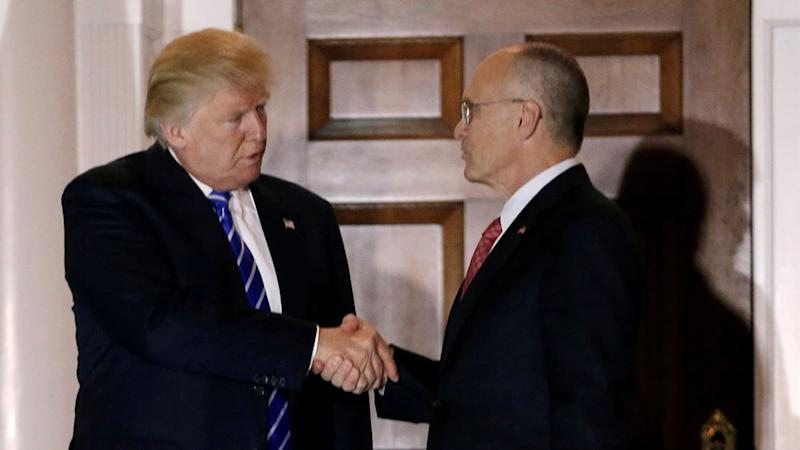 Trump names fast food exec Andy Puzder as Labor pick