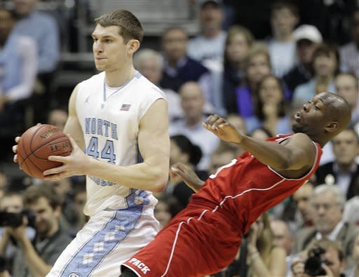 Marshall leads UNC to 69-67 ACC win over NC State
