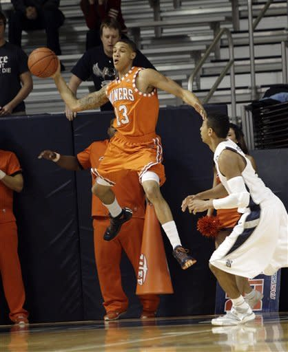 Balanced effort leads UTEP past Rice 67-56