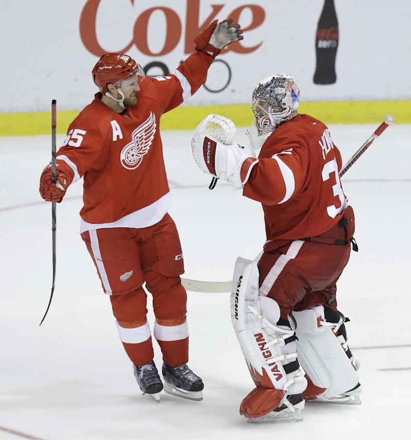 Red Wings beat Kings 3-2 in shootout