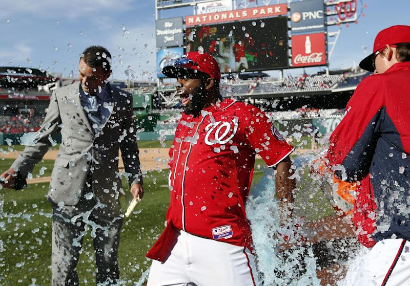 Span's sacrifice fly in 9th lifts Nats over Cards