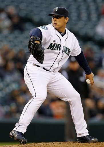 Vargas leads Mariners past Indians 4-1
