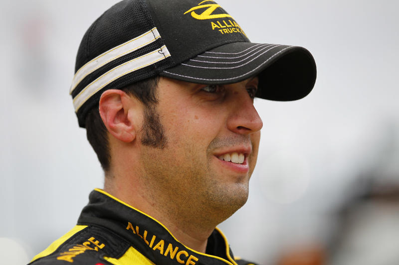 Hornish finally back in a car in 1st race with JGR