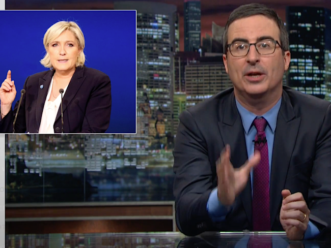 John Oliver Walks Us Through the Upcoming French Presidential Election