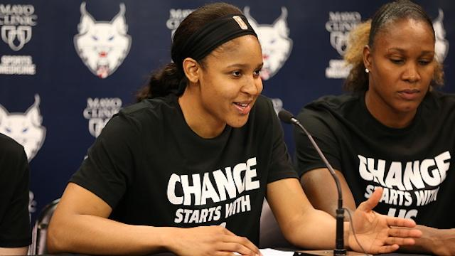 Minneapolis Police Officers Walk Off Wnba Security Detail
