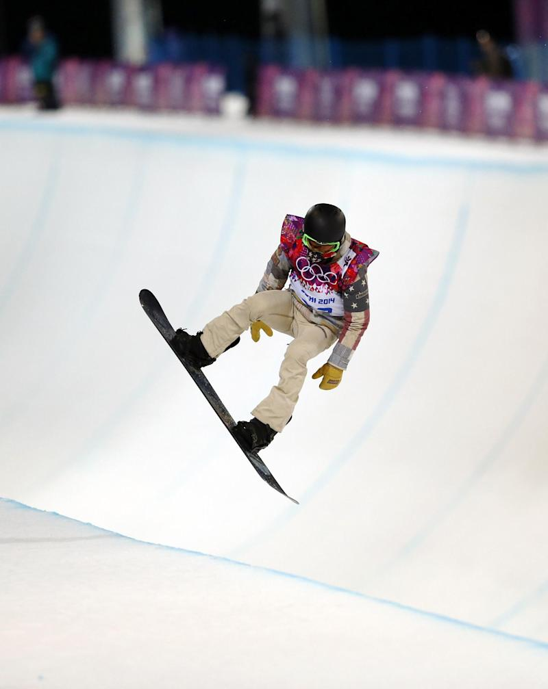 Olympic halfpipe problems mounting