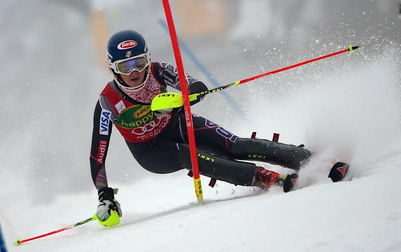 Sweden's Hansdotter takes WCup slalom for 1st win