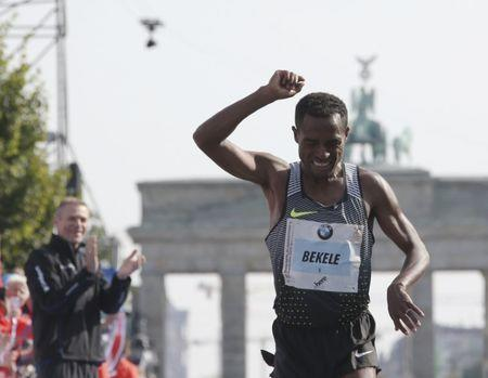 Athletics-Bekele in a hurry for London marathon glory