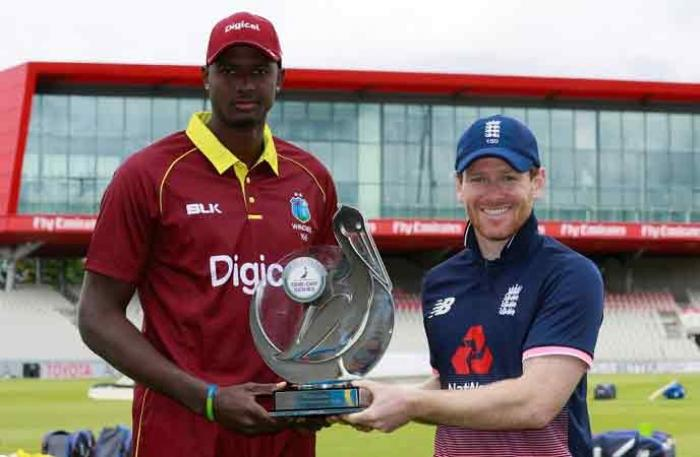 Second ODI between England and West Indies rained off