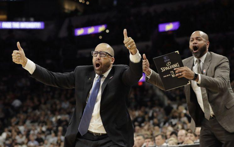 NBA fines Grizzlies' Fizdale $30000 for officiating rant