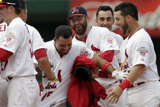 Cardinals rally to beat Marlins 5-4