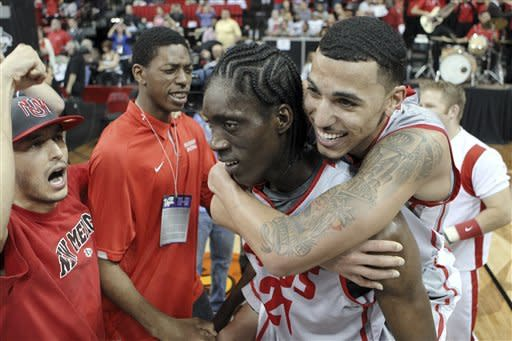 No. 15 New Mexico beats UNLV to win MWC tournament