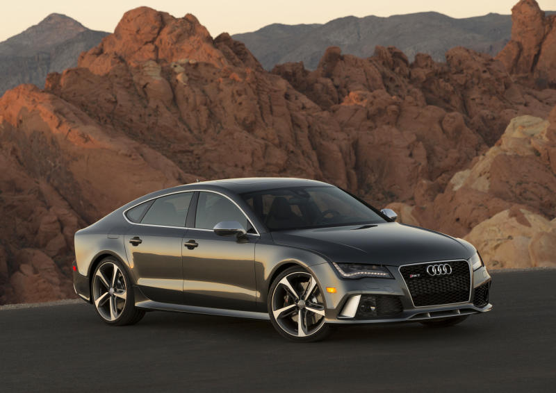 Audi's RS 7 is answer to Porsche, Mercedes