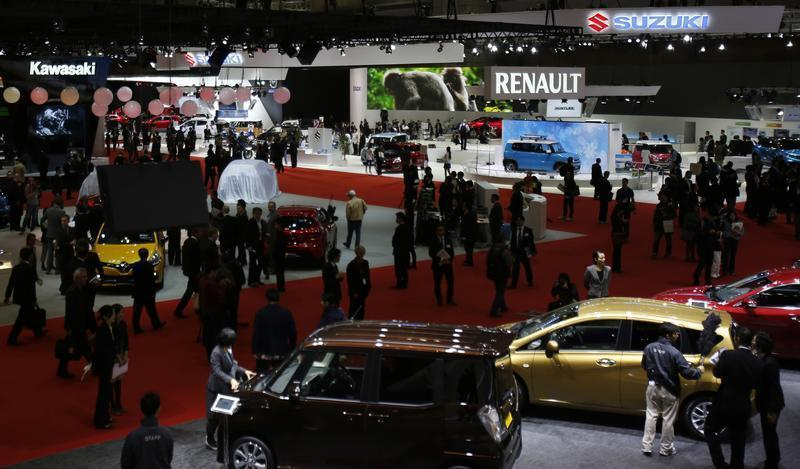 A general view of the 43rd Tokyo Motor Show