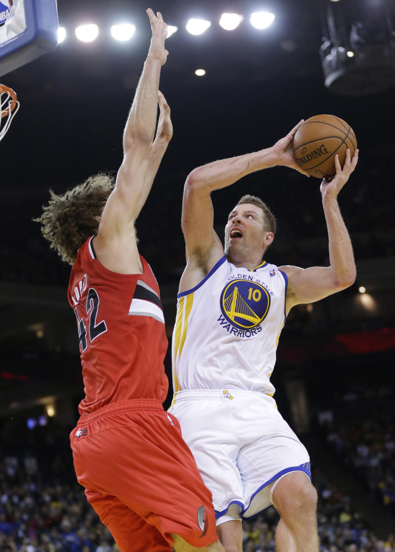 Warriors PF David Lee hopes to return for playoffs