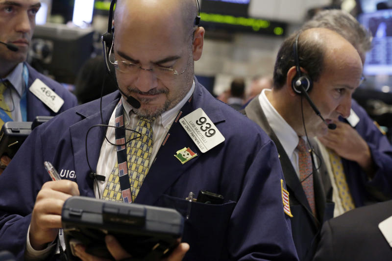Stock market gains are checked by Syria concerns