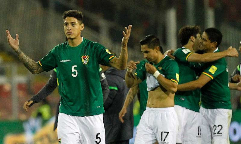 FIFA orders Bolivia to forfeit 2 World Cup qualifiers