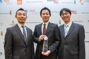 University of North Carolina Crowned Champion of One of World's Largest Business Case Competitions at NUS Business School
