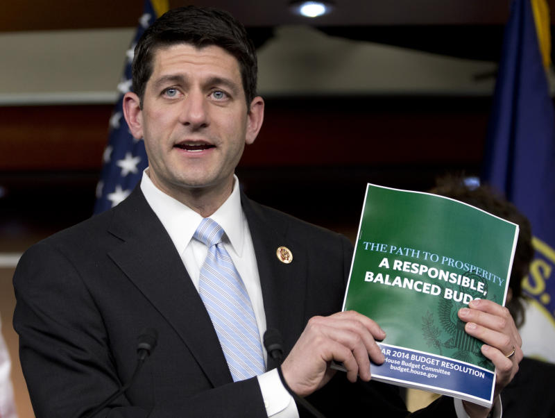 Ryan's budget: GOP takes aim at Dem spending plans
