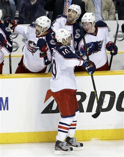Blue Jackets beat Predators 3-1 in Gaborik's debut