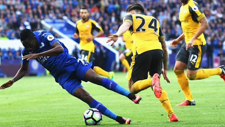 Arsenal was fortunate to leave Leicester City with a point. (Omnisport)