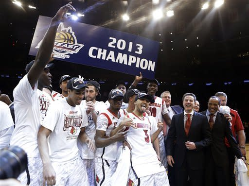 No. 4 Louisville wins Big East title